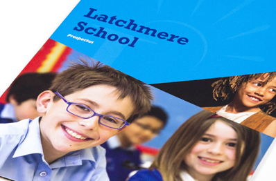 Latchmere School high quality bespoke prospectuses