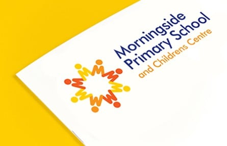 Morningside Primary School education graphic design branding webdesign