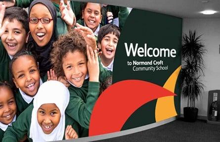 Normand Croft Community School website photography Prospectus