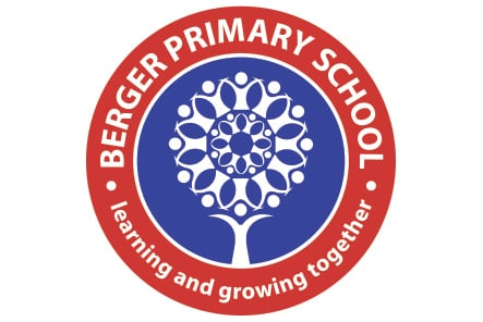 Berger Primary School bespoke logo design