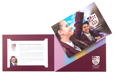 School photography and branding bespoke prospectuses