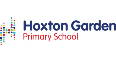 Hoxton Garden Primary Schools bespoke contemporary logo design and branding
