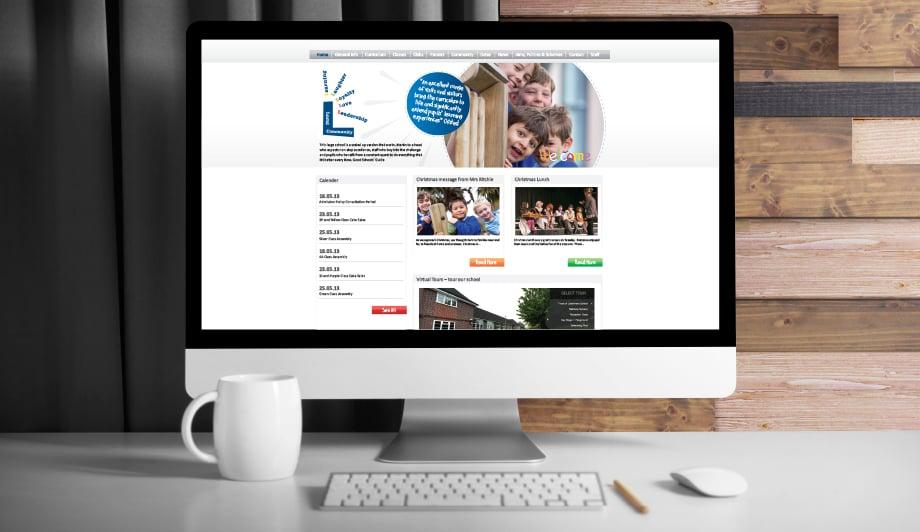 Latchmere School bespoke responsive website design