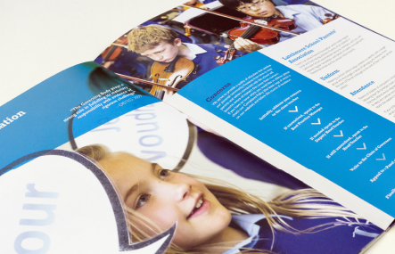 Latchmere School pupil photography for bespoke prospectus design