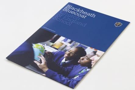 Church of England School custom design and print prospectus design
