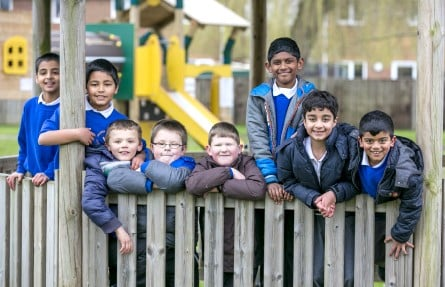 Grange Junior School Farnborough prospectus photography