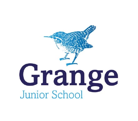 Farnborough Grange Junior School logo design branding