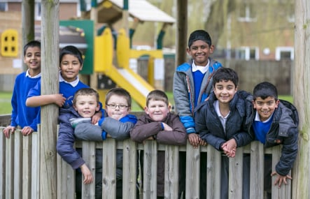 Grange Junior School Farnborough website photography