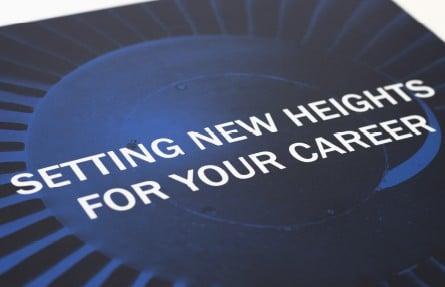 Heathrow UTC prospectus graphic design
