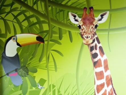 Harlyn Primary multiple themed bespoke school wall art