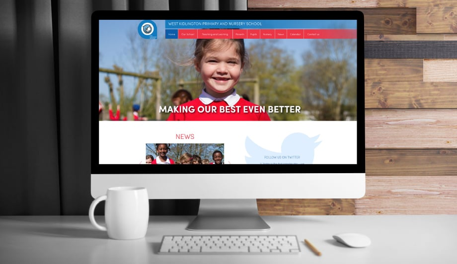 Primary School responsive and bespoke website design