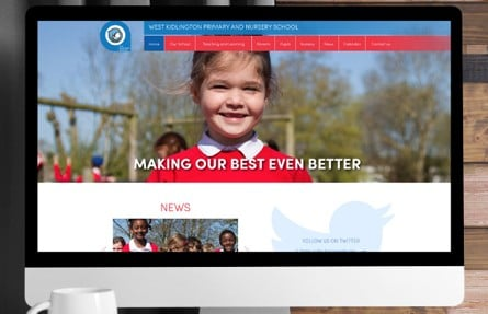 West Kidlington Primary and Nursery School responsive website