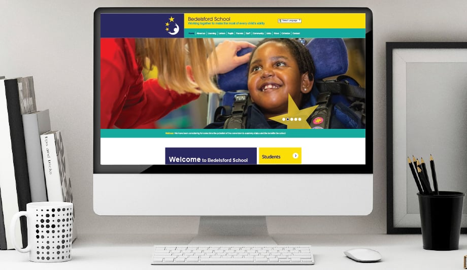 Bedelsford School Website, prospectus and photography design