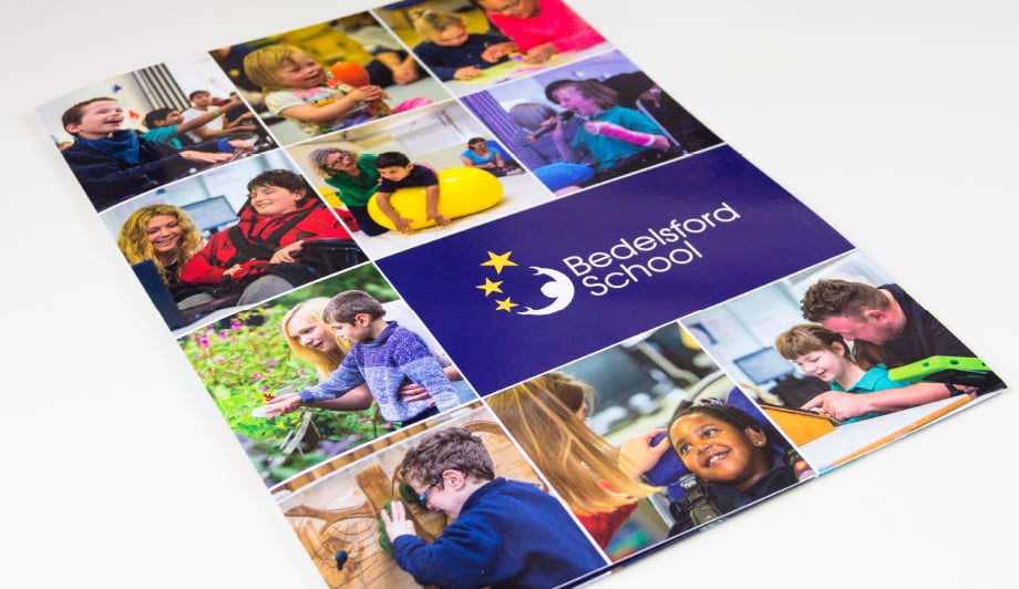Bedelsford School website photography and prospectus bespoke design