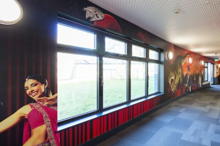 Roebuck Primary and Nursery subject corridor bespoke wall art