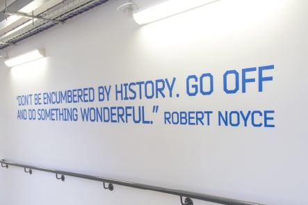 Townley Grammar inspirational quote corridor wall art