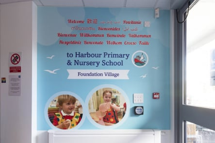 Harbour Primary and Nursery School Entrance Wall Art