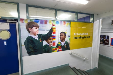 Longfield Primary School pupil photography bespoke wall art