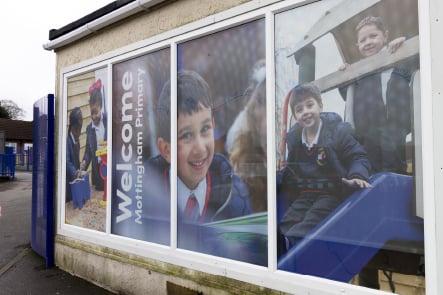 Mottingham Primary School bespoke entrance Wall Art