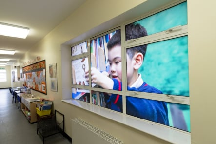 Mottingham Primary School pupil photography printed Wall Art