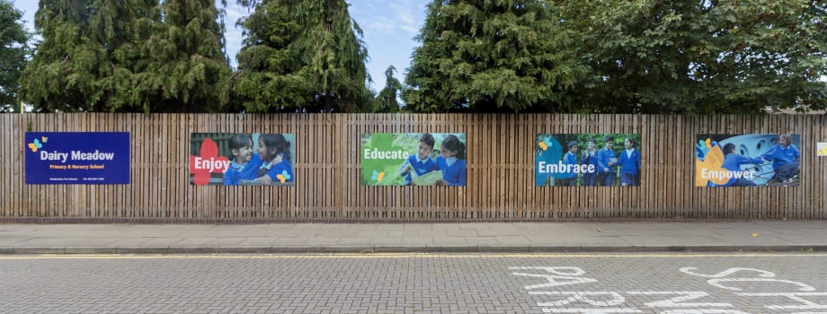 Dairy Meadow Primary and Nursery School Exterior Wall Art