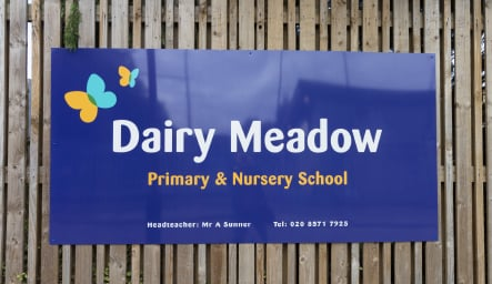 Dairy Meadow School bespoke Exterior Wall Art