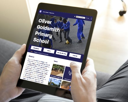 Oliver Goldsmith Primary School website creation