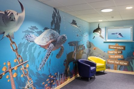 Improve pupil's well-being using Wall Art