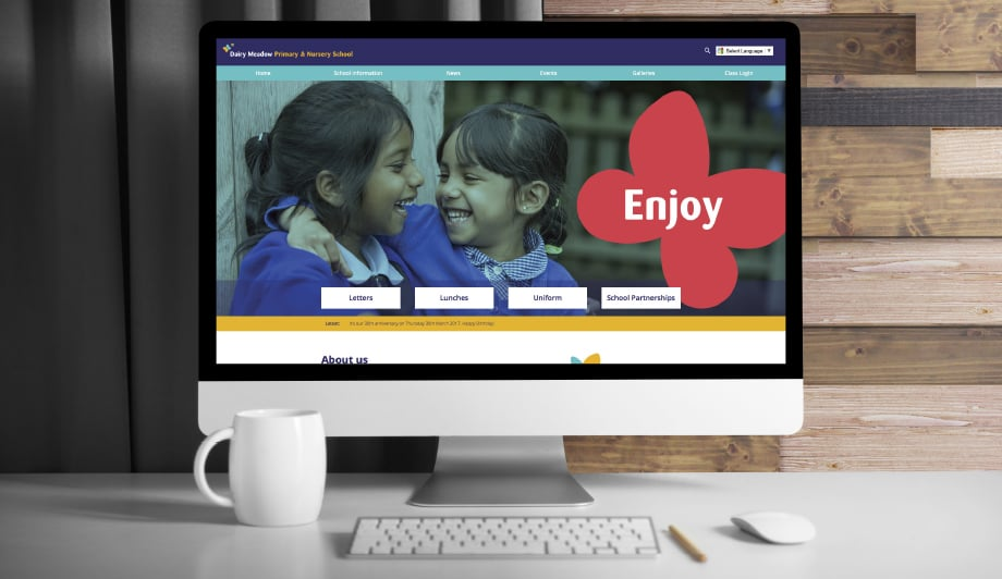 Dairy Meadow Primary School website development