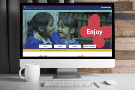 Daisy Meadow School website development