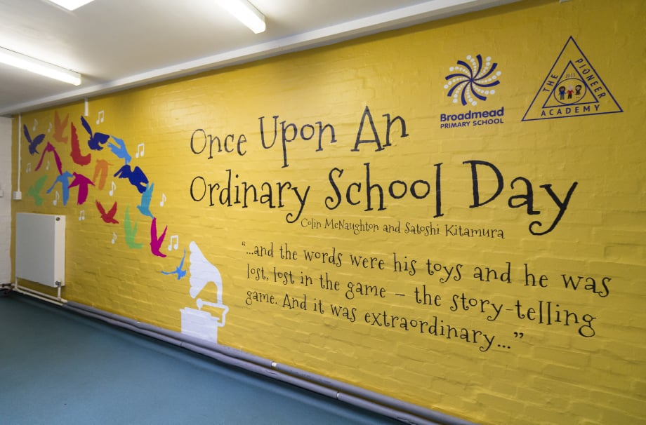 Broadmead Primary School English literature story themed Wall Art
