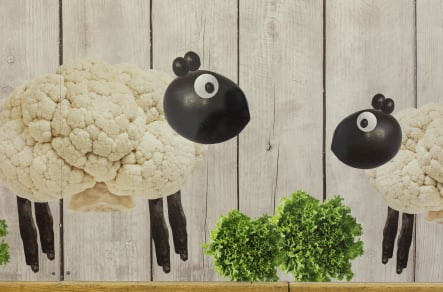 London Primary schools bespoke healthy eating servery wall art