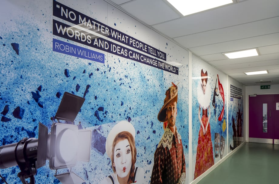 Brampton Manor Academy inspirational people and quotes themed Wall Art