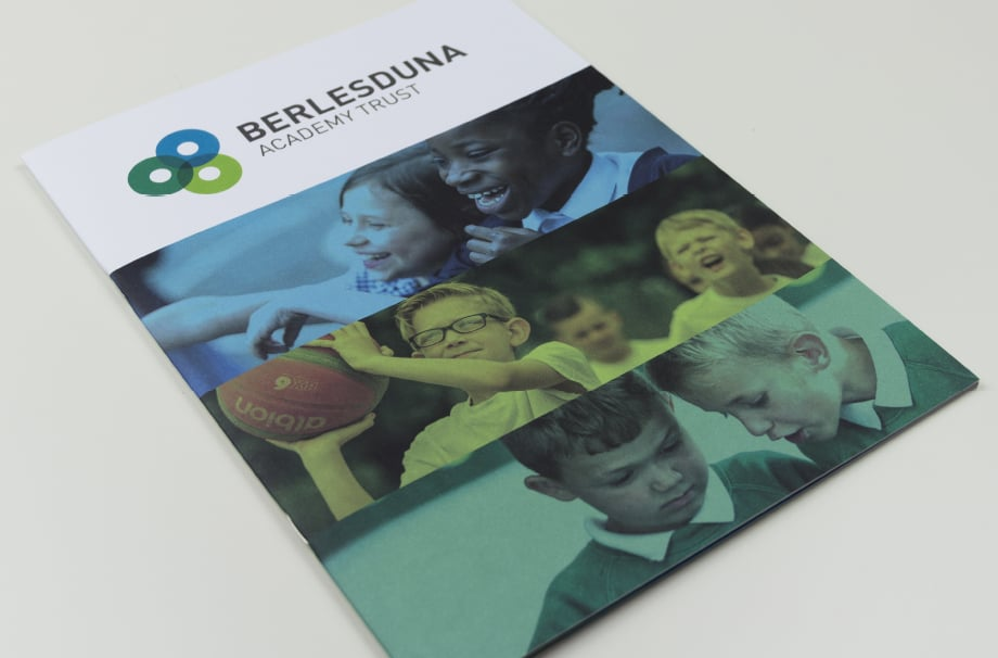 Bespoke design for school prospectus