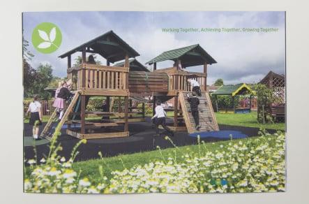 Berlesduna Academy Trust bespoke school branding and design