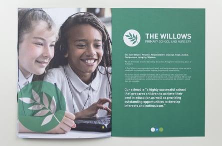 Berlesduna Academy Trust School bespoke folders and prospectuses