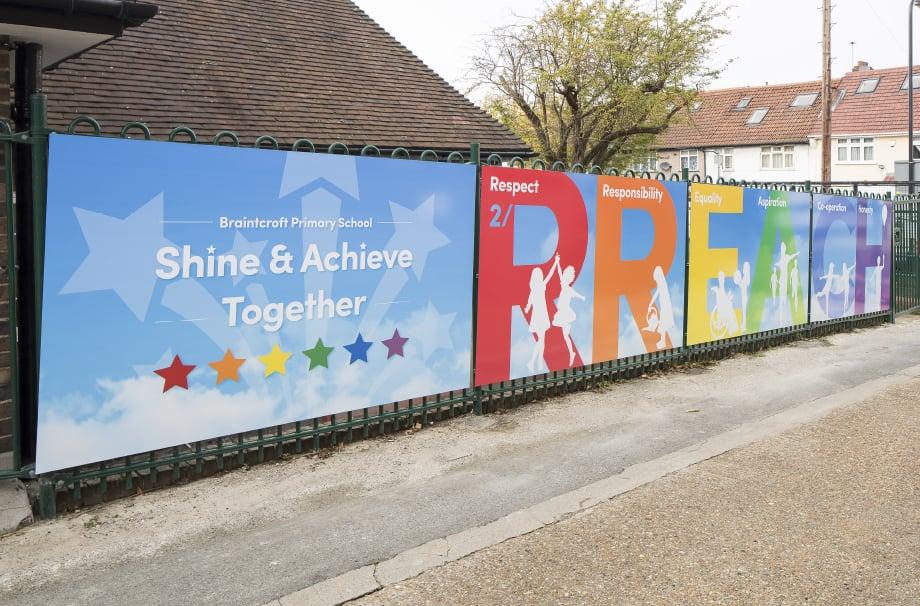 Braintcroft Primary School - values boards