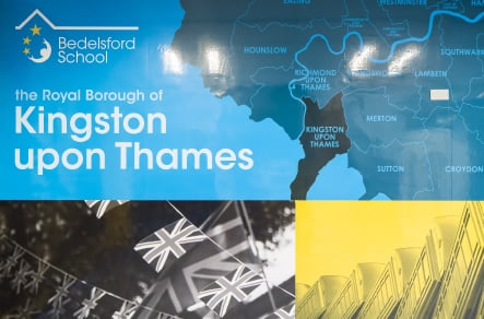 Kingston Upon Thames School bespoke local landmark feature Wall Art