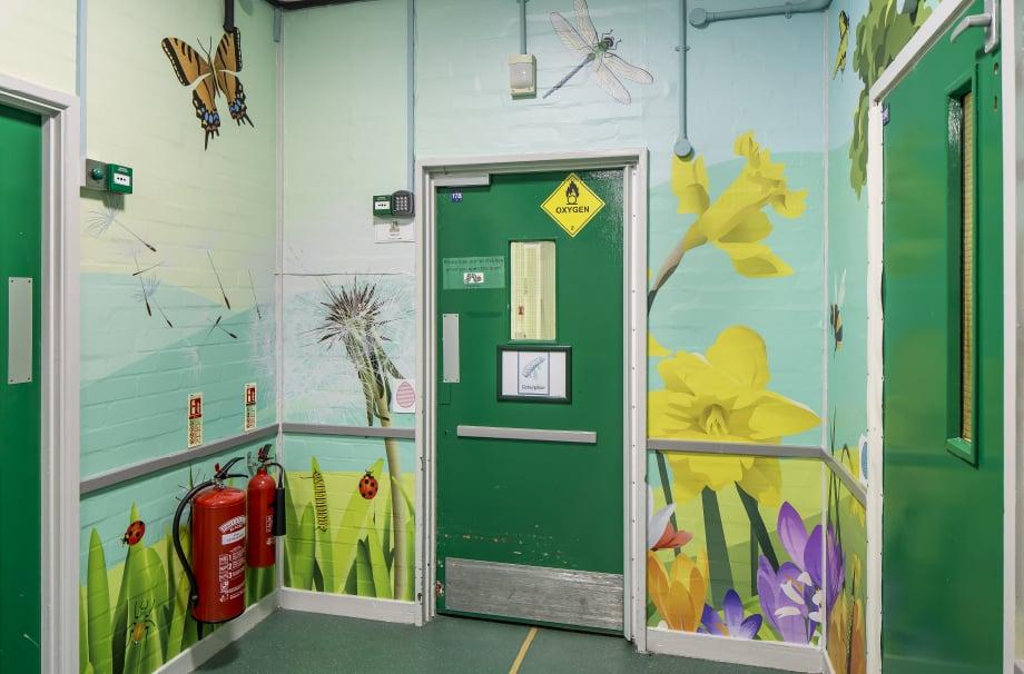 Five Acre Wood School Mini Beasts themed wall art