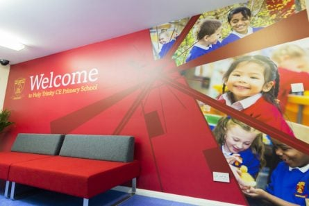 Parental Engagement school welcome wall art