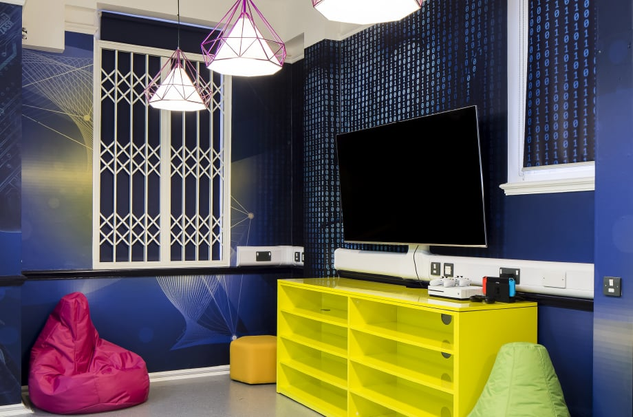 Girls School creative technology suite bespoke design Wall Art