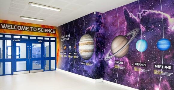 Richmond Park Academy - Science entrance