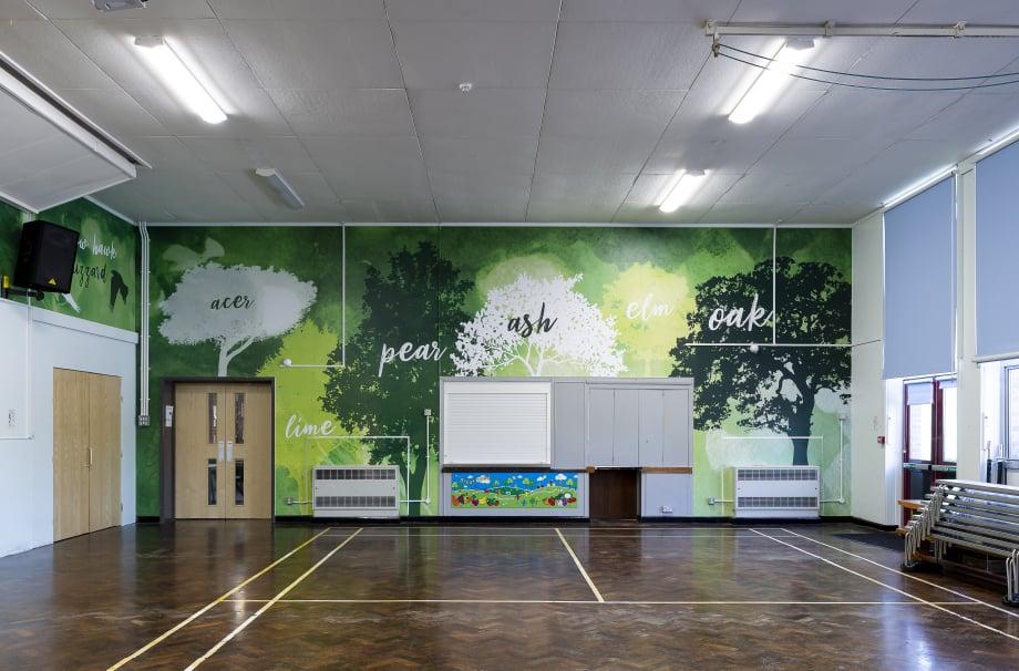 Crofton Anne Dale School Hall Tree themed wall art
