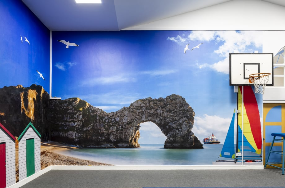 Frederick Bird Primary School Geography large format wall art