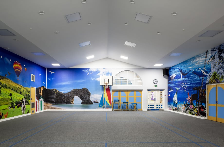 Sports Hall Wall Art