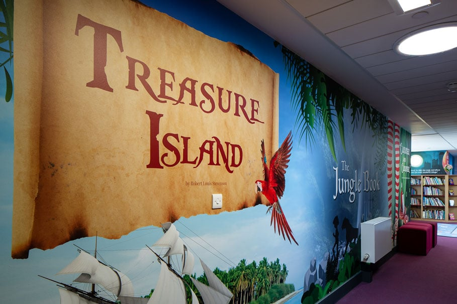 Treasure Island Wall Art