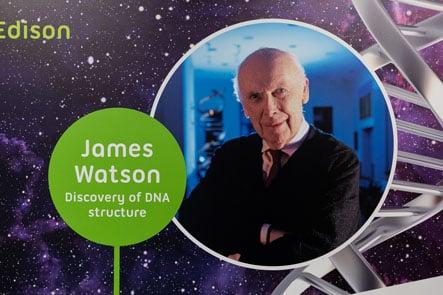 Edison School James Watson feature inspiring corridor Wall Art