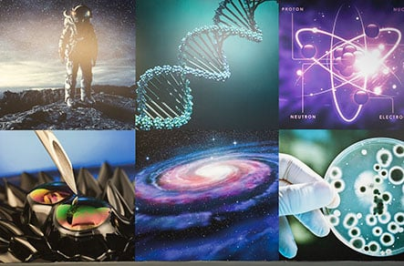 Science themed large format bespoke design Wall Art