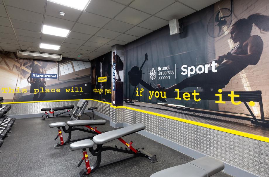 Brunel University - free weights room
