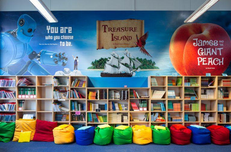 Thomas Arnold library wall art